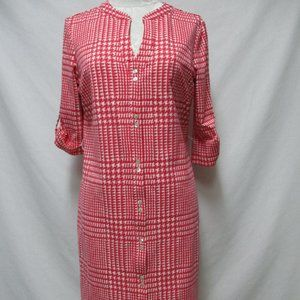 J. McLaughlin Catalina knit button down Dress Lg
